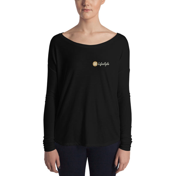 The DO Lifestyle simple logo Ladies' Long Sleeve Tee