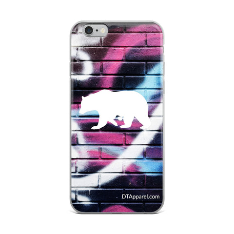 The DO Like a BEAR abstract iPhone Case