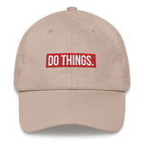 DO THINGS classic Dad hat