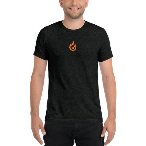 Burn Your Plans mini clear Tri-blend t-shirt