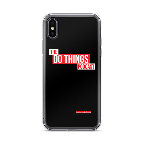 The Do Things Podcast iPhone Case