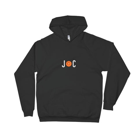 Jesus + Coffee jc logo slim-fit hoodie