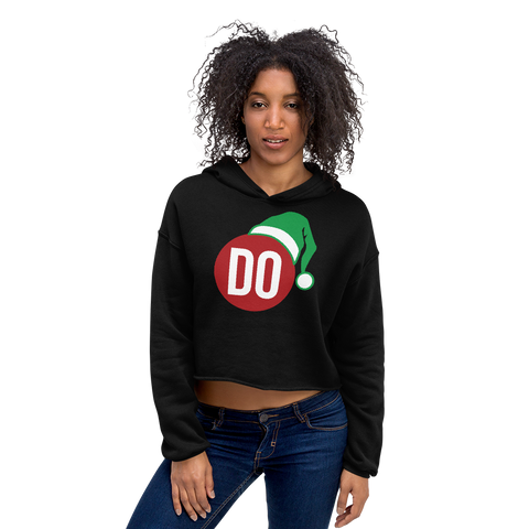 The DO Christmas elf Crop Hoodie