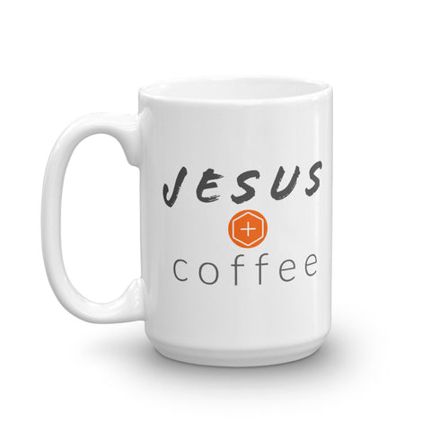 Jesus + Coffee Mug