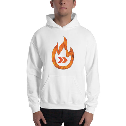 Burn Your Plans clear logo Hoodie