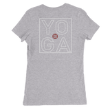 The DO YOGA Lifestyle Women's Slim Fit T-Shirt