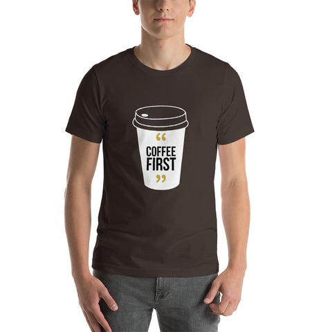 Coffee First large logo T-Shirt