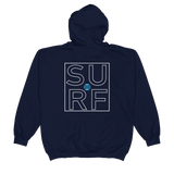 The DO SURF  Zip Hoodie