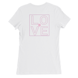 The DO LOVE Lifestyle Women's Slim Fit T-Shirt