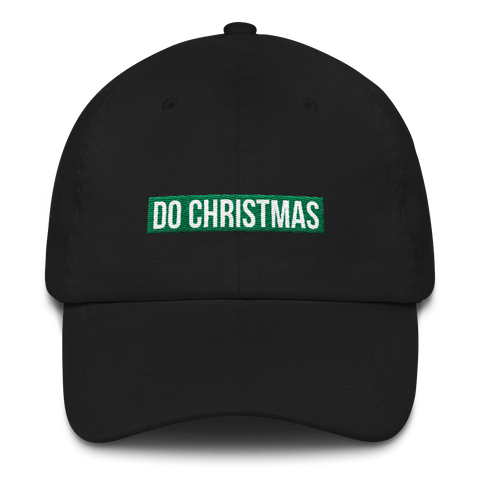 The DO Christmas Dad hat
