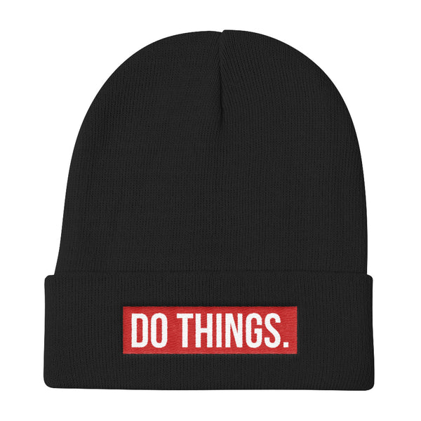 DO THINGS (beanie)