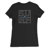 The DO SURF Lifestyle Women's Slim Fit T-Shirt