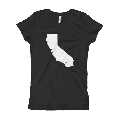 DO Things in CA girls tee
