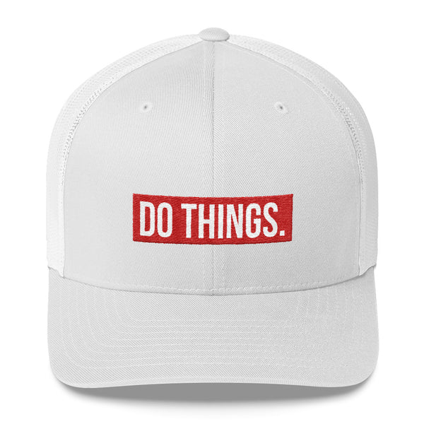 DO THINGS (Trucker Cap)