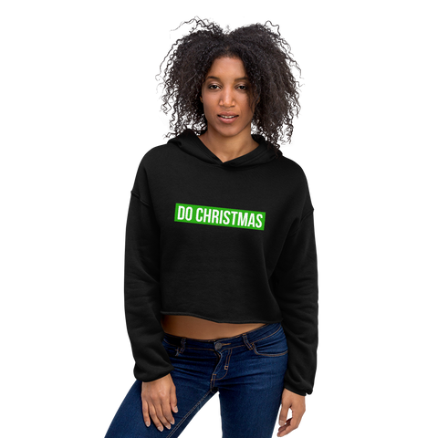 The DO Christmas Crop Hoodie
