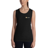The DO Lifestyle simple logo Ladies' Muscle Tank