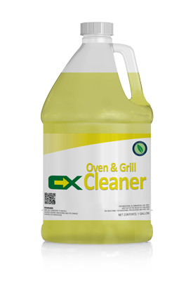 Oven & Grill Cleaner - 1 Gallon (Case of 4) - Chemical Xchange