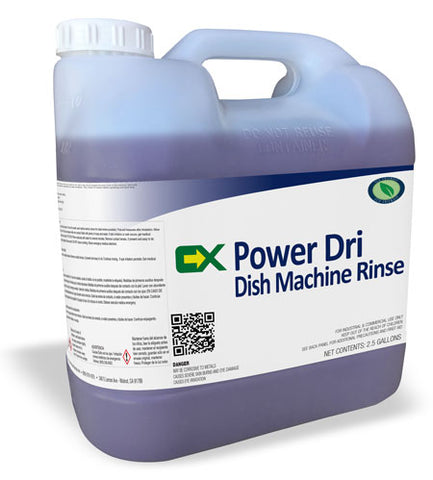 Dish Machine Rinse - 2.5 Bottle - Chemical Xchange