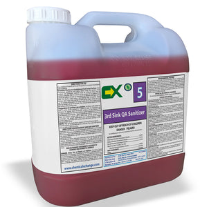 Quat Sanitizer - 2.5 Gal Bottle - Chemical Xchange