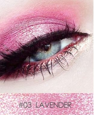 12 Colors Glitter Eye shadow Powder Pigment Makeup