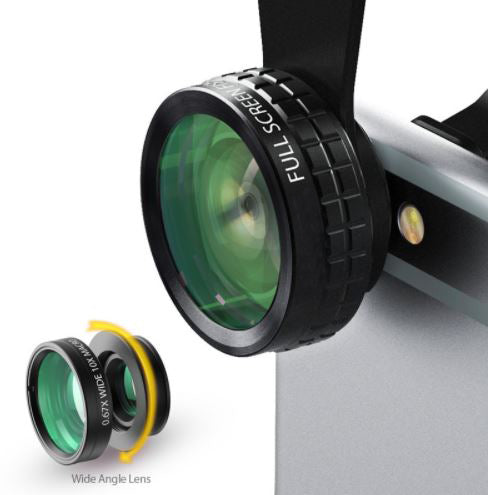 Clip-on Phone Camera Lens