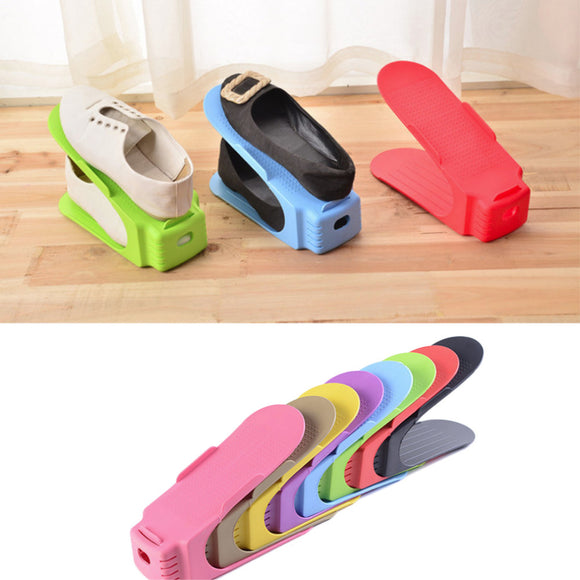 Smart, Adjustable Shoe Organizer/Stacker (4 pieces)