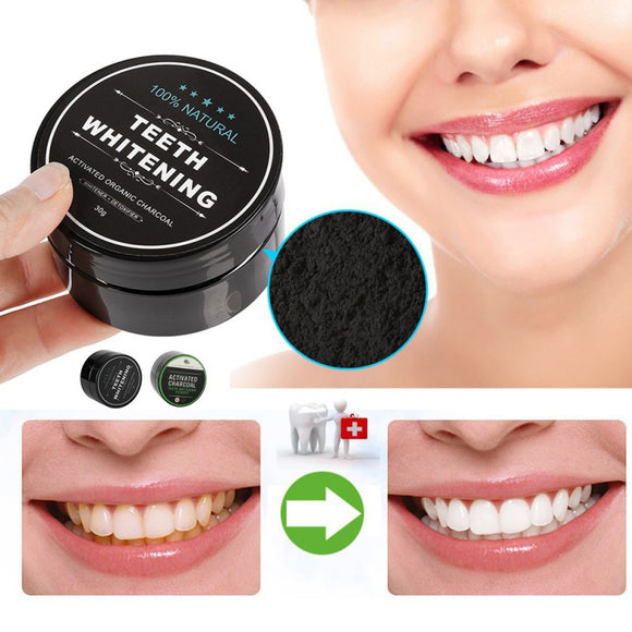 Activated Organic Charcoal Teeth Whitening