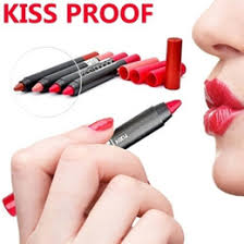 Adorable Matte Kissproof Lipstick with Sharpener!