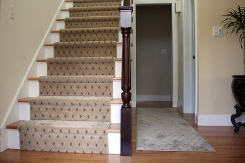 end capping stair runner