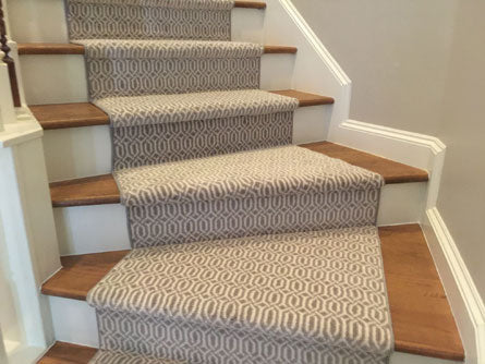 pie shaped stair runners