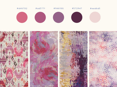 Rugs with Purples in Pinks
