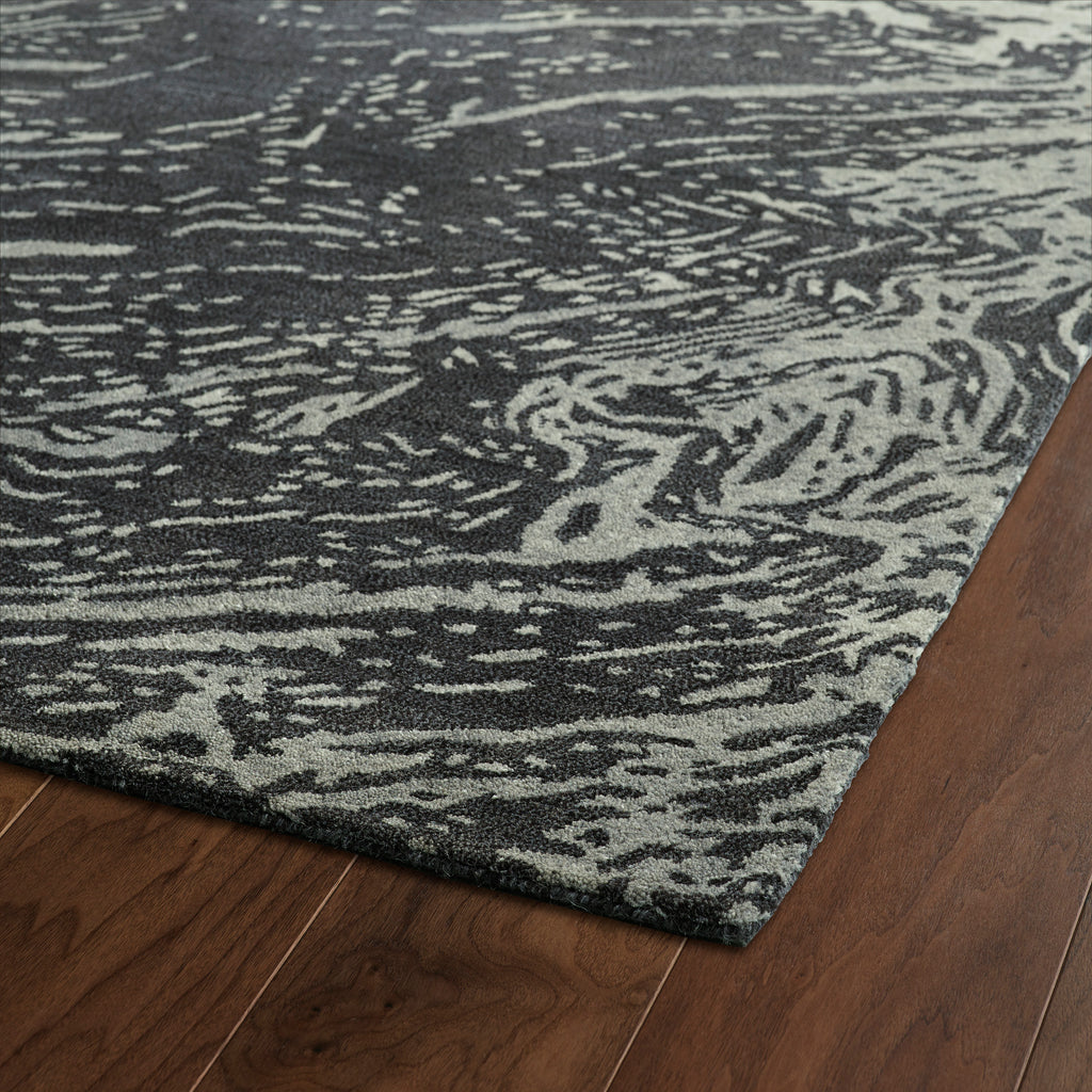 Kaleen Brushstrokes Brs01 38 Charcoal Rug Rugs Done Right