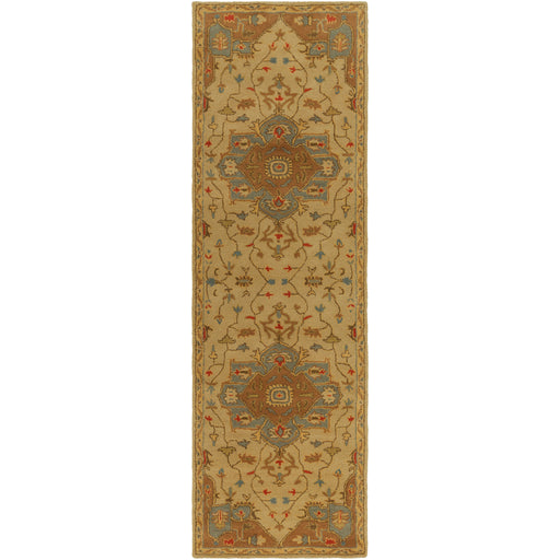 Surya Closeout Caesar Cae1146 Camel Rug Rugs Done Right