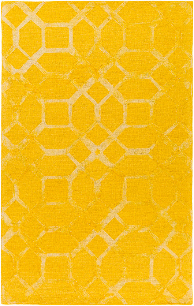 Surya Closeout Organic Awog2278 Yellow Rug Rugs Done Right