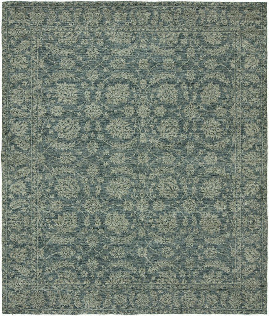 Kalaty Rug Co Gramercy Gr719 Stone Blue Rug Rugs Done Right