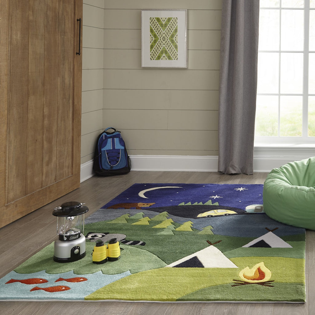 Momeni Lil Mo Whimsy Lmj31 Blue Rug Rugs Done Right