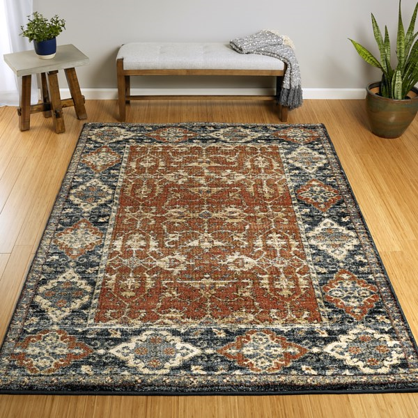 Kaleen Mcalester Mca03 53 Paprika Rug Rugs Done Right
