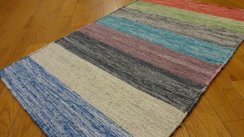 Shalom Brothers Durham Kilim Dk 1 Multi Rug Rugs Done Right