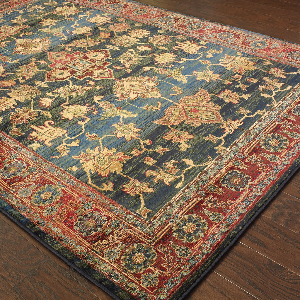 Oriental Weavers Sphinx Division Kharma 836f Charcoal Rug