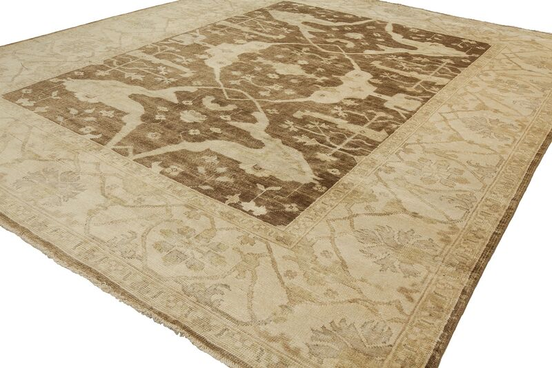 Shalom Brothers Oushak Ou52 Brown Rug Rugs Done Right