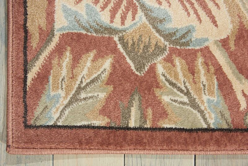 Nourison Walden Wal02 Brick Rug Rugs Done Right