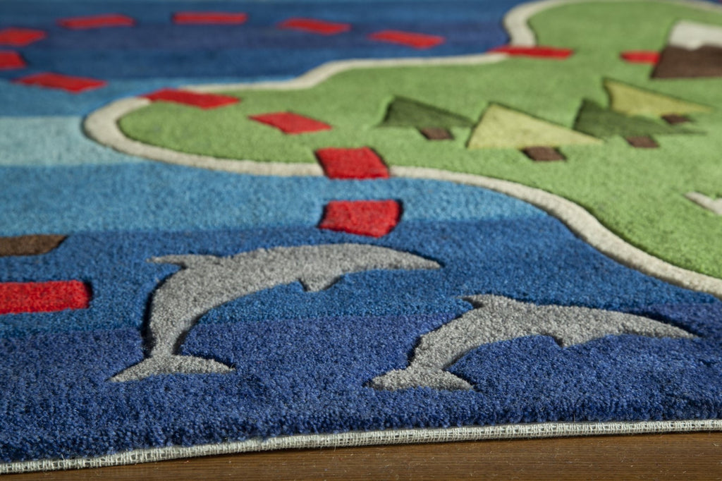 Momeni Lil Mo Whimsy Lmj25 Multi Rug Rugs Done Right