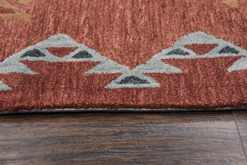 Rizzy Rugs Mesa Mz163b Rust Rug Rugs Done Right