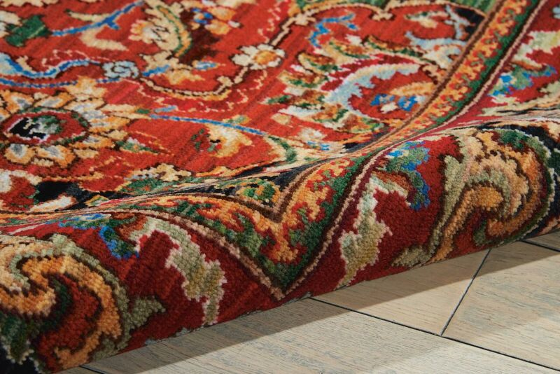 Nourison Timeless Tml15 Red Rug Rugs Done Right