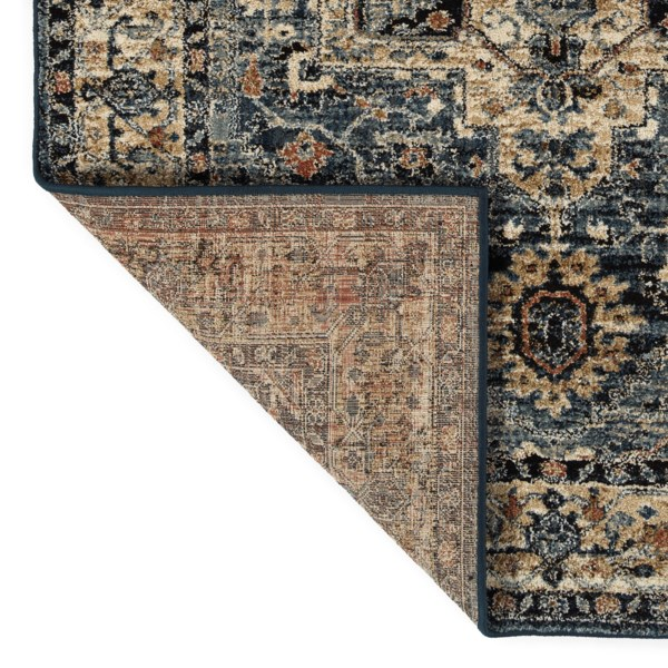 Kaleen Mcalester Mca07 17 Blue Rug Rugs Done Right