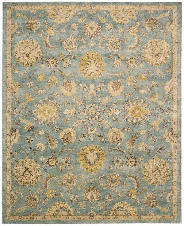Nourison Jaipur Ja53 Light Blue Rug Rugs Done Right