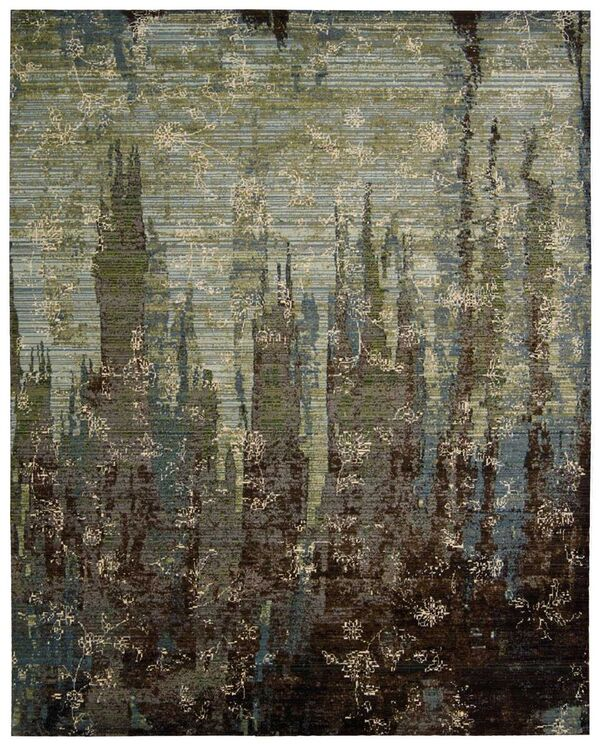 Nourison Rhapsody Rh006 Seaglass Rug Rugs Done Right