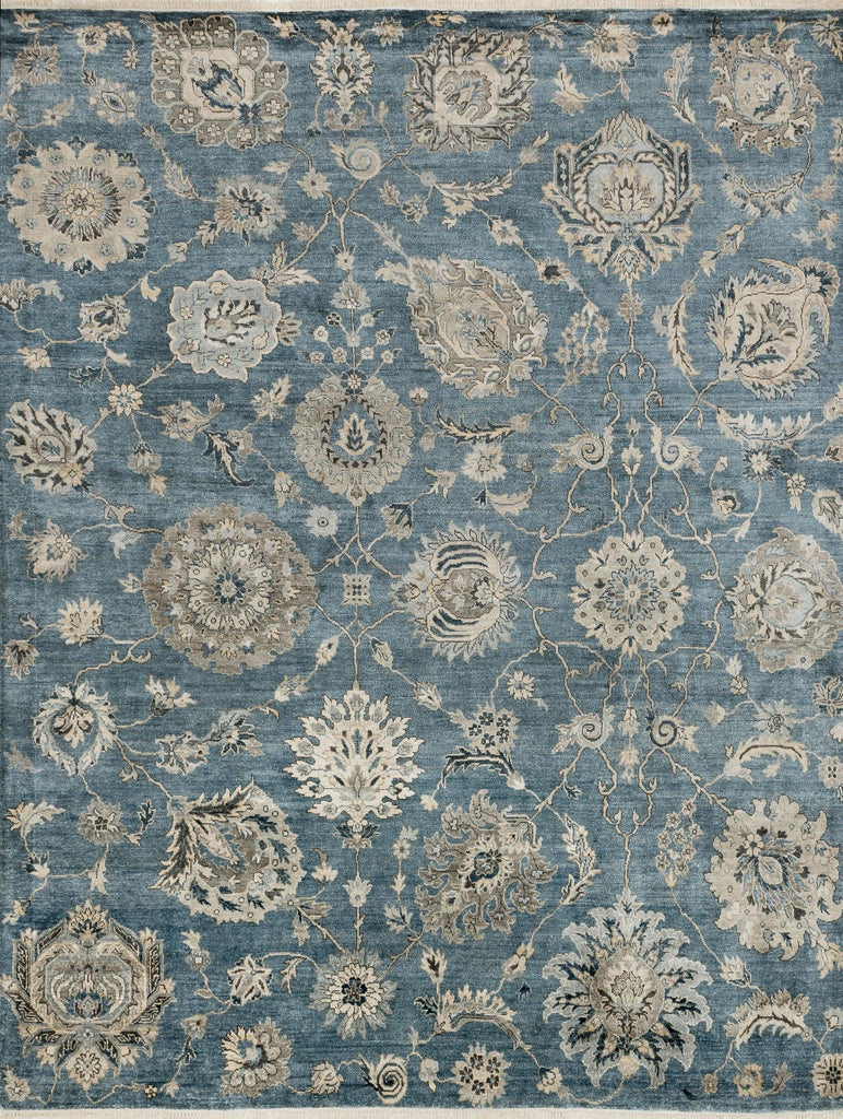 Loloi Rugs Kensington Kg07 Storm Blue Rug Rugs Done Right