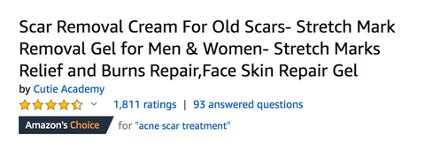Customer Reviews- 6 factors to consider when picking a scar Treatment- Dareugo.com