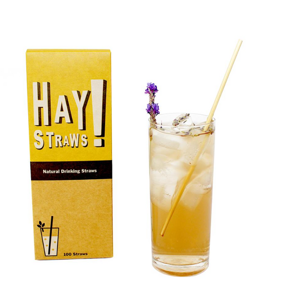 STOP Soggy Straws! Hello Hay Straws! 100% Fully biodegradable drinking straws
